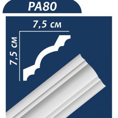 Потолочный плинтус PA80 ОМИС