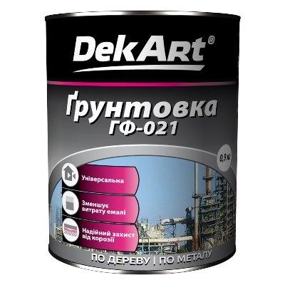 ГРУНТОВКА ГФ-021 DEKART
