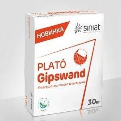 Гипсовая штукатурка PLATO Gipswand, 30 кг.
