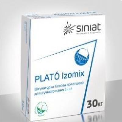 Гипсовая штукатурка PLATO Izomix, 30 кг.