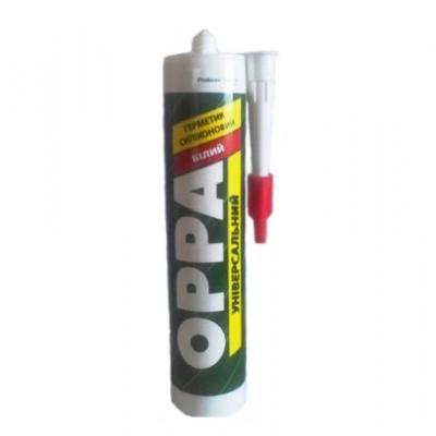 Герметик OPPA универсальный белый, 280 ml