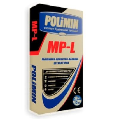 Polimin MP-L машинная цементно-известковая штукатурка, 30 кг