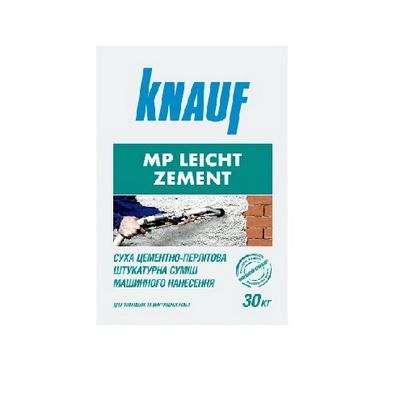 Штукатурка цементная машинная KNAUF МP Leicht Zement