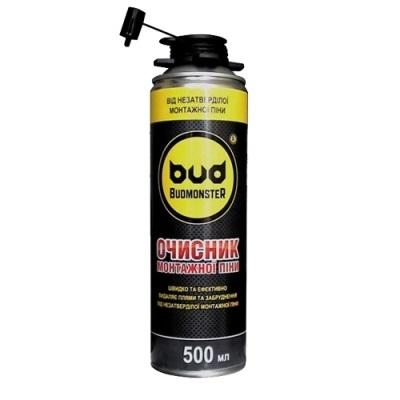 Очиститель монтажной пены BudMonster, 500 мл.