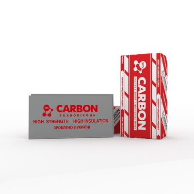 Экструдированный пенополистирол XPS ТЕХНОНИКОЛЬ CARBON PROF300 50 (1180х580х50мм)