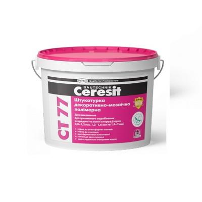 Штукатурка декоративно-мозаичная полимерная Ceresit CT 77
