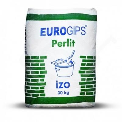 Штукатурка гипсово-перлитная стартовая EuroGips Izo, 30 кг