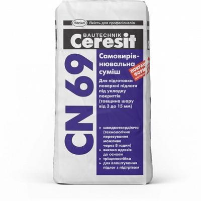 Cмесь самовыравнивающаяся Ceresit CN 69, 25 кг.