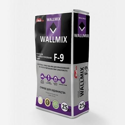 Клей для пінополістирольних плит WALLMIX F-9, 25кг