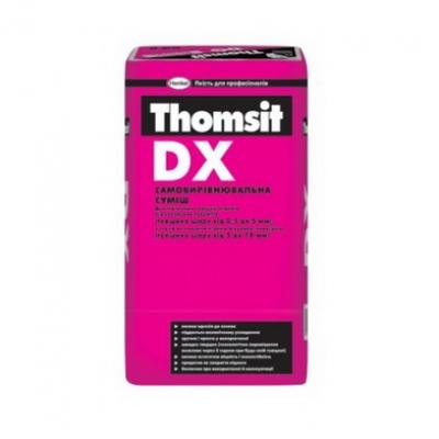 Смесь самовыравнивающаяся Thomsit DX, 25 кг.