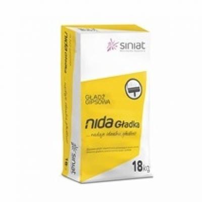 Гипсовая шпаклевка NIDA Gladka, 18 кг.