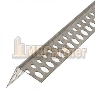 Уголок алюминиевый перфорированный, 3 м