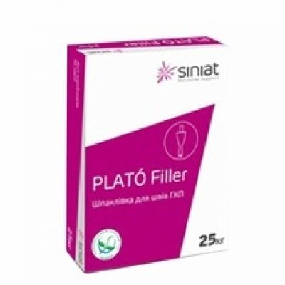 Гипсовая шпаклевка PLATO Filler, 25 кг.