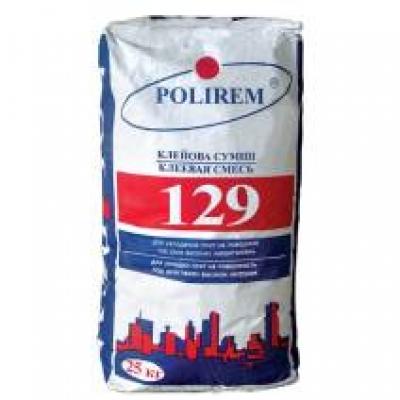 Клей для плитки Polirem 129, 25 кг