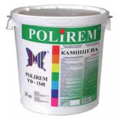 Штукатурка Polirem VD-1345 камешковая