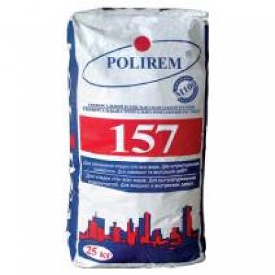 Строительно-монтажный раствор Polirem 157, 25 кг