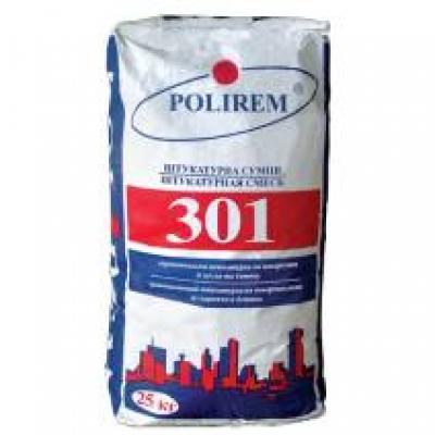 Штукатурка цементная Polirem 301
