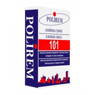 Клей для плитки Polirem 101, 25 кг