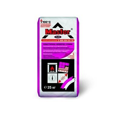 Клеевая смесь эластичная для всех видов плиток MASTER FLEX, 25 кг.