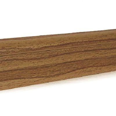 Плинтус 52 мм (Орех светлый) ОМИС