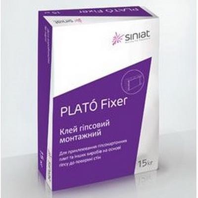 Гипсовый клей PLATO Fixer, 15 кг.