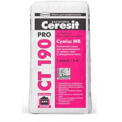 Клей Ceresit CT 190 Pro, 27 кг
