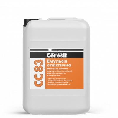 Эмульсия эластичная Ceresit CC 83, 10 л.