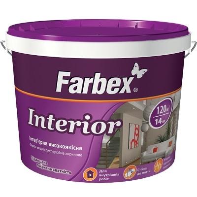 """Краса интерьерная высококачественная """"Interior"""", 14кг ТМ """"Farbex"""""""