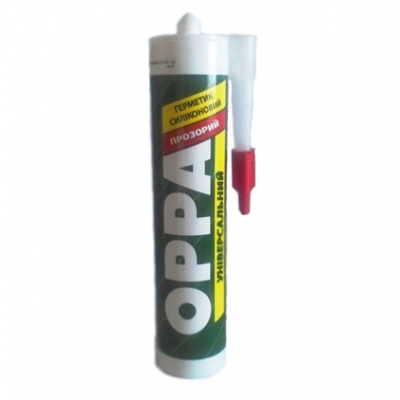 Герметик OPPA универсальный прозрачный, 280 ml