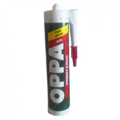 Жидкие гвозди OPPA универсальные белые, 280 ml