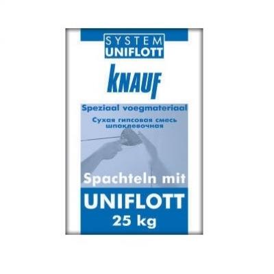 Шпаклевка Knauf Uniflott, 25 кг.