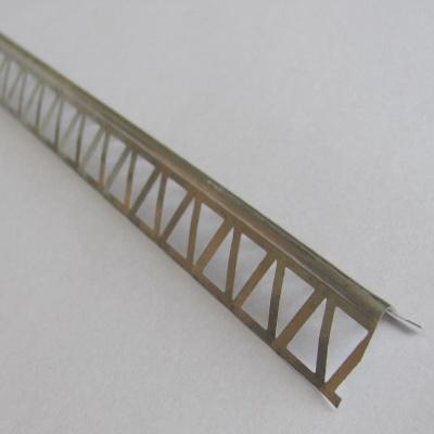 Профиль уголок алюминиевый перфорированный, 2,5 м
