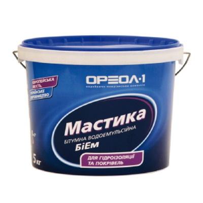 Мастика битумно-эмульсионная БиЭМ, 20 кг.