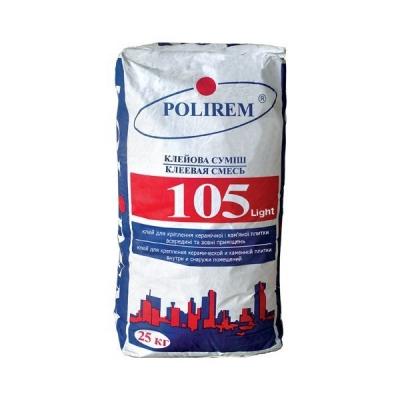 Клей для плитки Polirem 105 Light, 25 кг