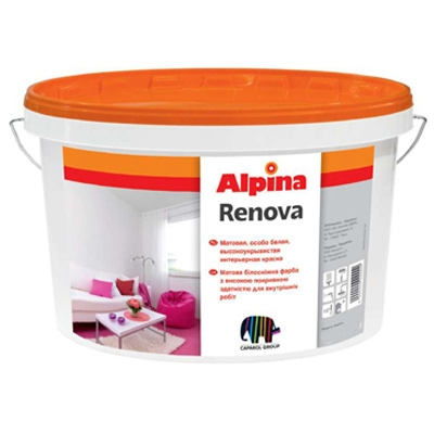 Краска Alpina RENOVA, 10 л