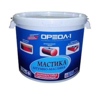 Мастика битумно-масляная МБ-50, 20 кг.