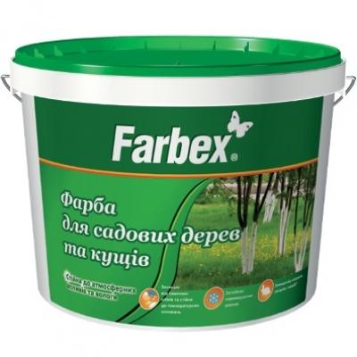 """Краска для садовых деревьев и кустов ТМ """"Farbex"""", 14 кг"""