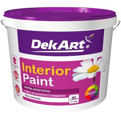 Краска интерьерная Interior Paint TM DekArt