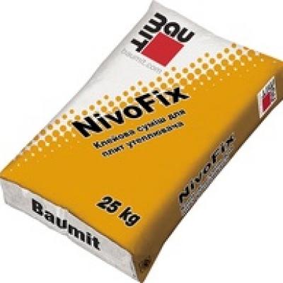 Клеевая смесь Baumit NivoFix, 25 кг.