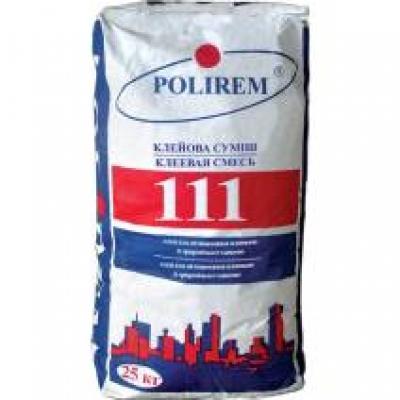 Клей для плитки Polirem 111, 25 кг