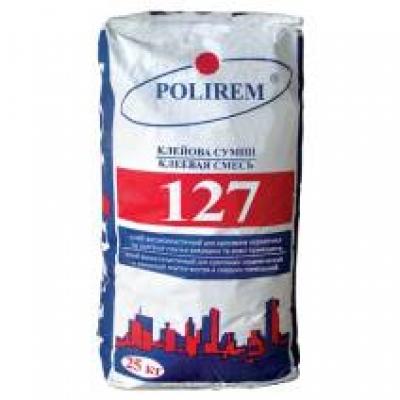 Клей для плитки Polirem 127 Эластик, 25 кг
