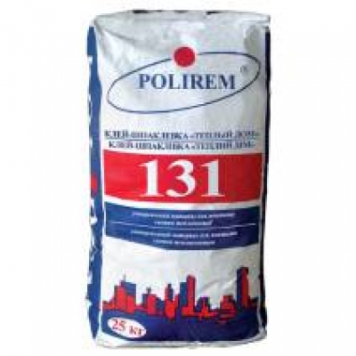 Клей-шпаклевка Polirem 131, 25 кг
