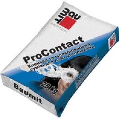 Клеевая шпаклевочная смесь Baumit ProContact, 25 кг.