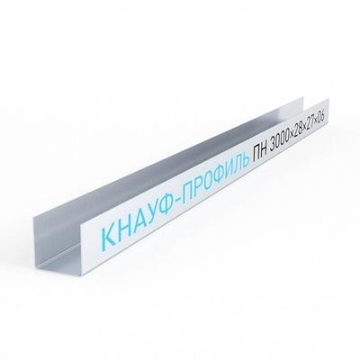 Профиль KNAUF UD27, 3м(0,60)