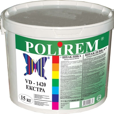 Шпаклевка POLIREM VD-1420 Экстра