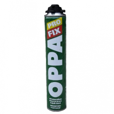 Монтажная клей-пена OPPA PRO FIX 750 ml