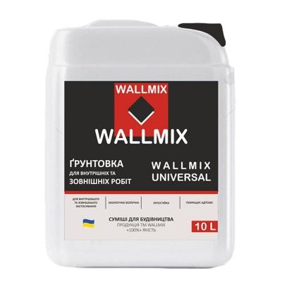 Грунтовка Universal Wallmix, 10л